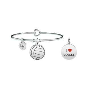 bracciale-donna-kidult-free-time-I-love-volley-731293