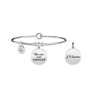 bracciale-donna-kidult-philosophy-we-are-our-choices-731301