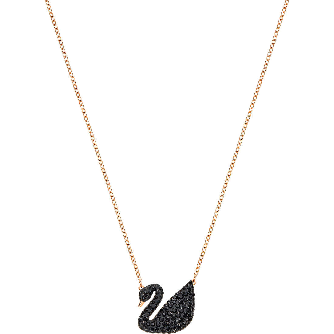 San Francisco 39542 c2748 COLLANA SWAROVSKI ICONIC SWAN - 5204134