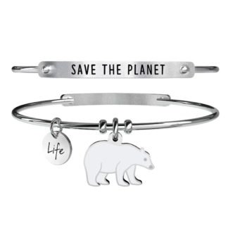 Bracciale-donna-Kidult-animal-planet-orso-polare-save-the-planet-731370
