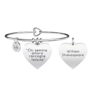 Bracciale-donna-Kidult-love-chi-semina-amore-shakespeare-731270