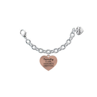 Elemento-Singolo-Bracciale-2Jewels-Together-Family-is-Love-Happiness-Everything-My-Family-131048