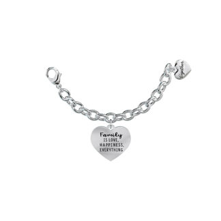 Elemento-Singolo-Bracciale-2Jewels-Together-Family-is-Love-Happiness-Everything-My-Family-131059