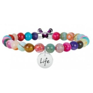bracelet-kidult-symbols-stainless-steel-and-agata-multicolor-231533