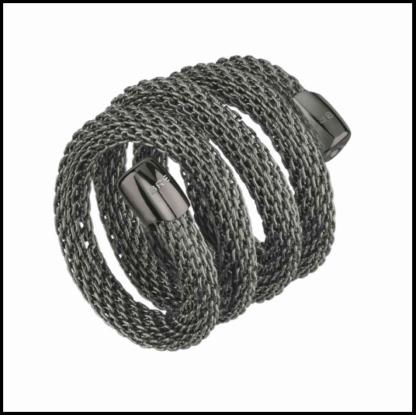 anello-breil-new-snake-nero-tj2721