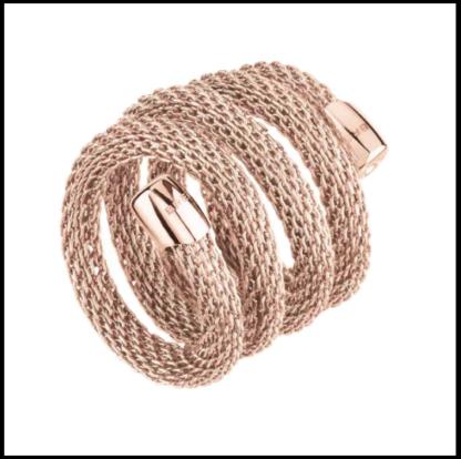 anello-breil-new-snake-rosa-tj2722
