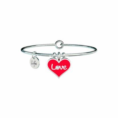 Bracciale-donna-Kidult-love-Cuore-rosso-love-731608