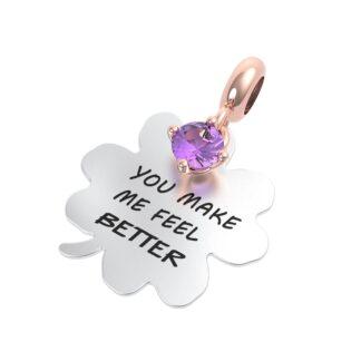 Charm RERUM - Amicizia - Ametista - You make me feel better