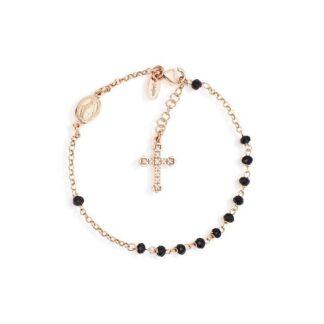 amen-bracciale-rosario-argento-rosa-con-cristalli-neri-brornz4