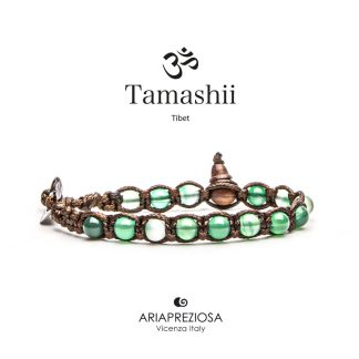 bracciale-tamashii-unisex-tibet-buddista-BHS601-140-a-verde-striata